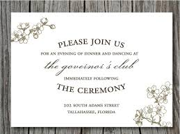 reception invitation wording wedding reception only invitation wording lake side corrals