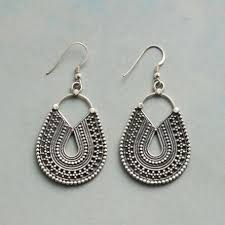 metal earings handmade earrings robert redford s sundance catalog