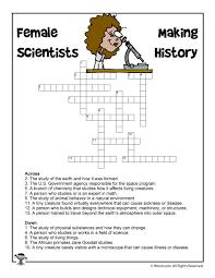 thanksgiving crossword female scientists crossword puzzle woo jr kids activities