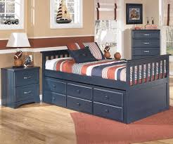 leo b twin size captains trundle bed  ashley kids furniture  with leo captains trundle bed twin size  ashley furniture  asbdt from kidsfurniturewarehousecom