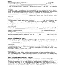 lease agreement template word apartment lease templates blank