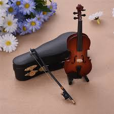 mini instruments violin model miniature musical gifts collection
