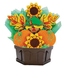 harvest happiness cookie bouquet cookies by design