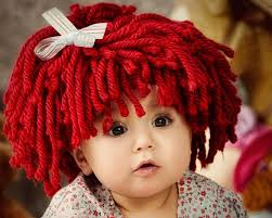 Cabbage Patch Halloween Costume Baby Baby Hat Raggedy Ann Wig Pattern Cabbage Patch Hat Pattern Crochet