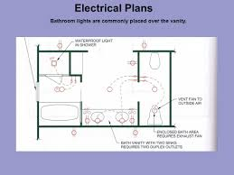 bathroom lighting with electrical outlet electrical plans ppt video online download