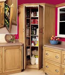 How To Build A Corner Pantry For When Im No Longer Renting - Kitchen corner cabinets