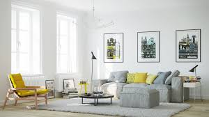 Purple Yellow And Grey Living Rooms Say Yes To Yellow 4 Apartments That Flaunt Yellow Accents