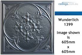 Decorative Pressed Metal Panels Wunderlich Pressed Metal Panels No 1399 Iris