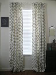Moorish Tile Curtains Endearing Moorish Tile Curtains Decor With Moorish Gray Tile
