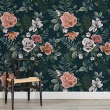 floral wallpaper u0026 flower wall murals at murals wallpaper