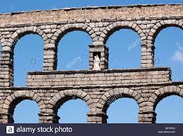 segovia segovia province spain the roman aqueduct unesco world