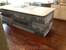 kitchen island used diy kitchen makeover ideas faux wood workshop