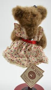 boyds bears teddy bear the head bean collection caroline sturbridge