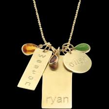14k Gold Nameplate Necklace Pendant Engraved Personalized 14k Gold Nameplate Charm Necklace Names
