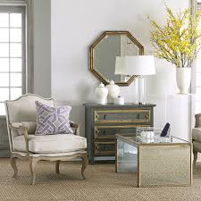antiqued art deco coffee table wisteria