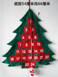 aliexpress buy countdown to fabric tree