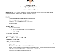 sle resume for part time job in jollibee logo unusual resume sle objectives for service crew contemporary