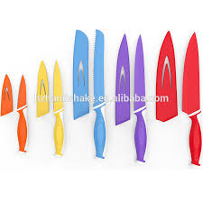 colorful kitchen knives non stick knife set non stick knife set suppliers and