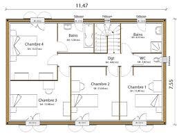 plan maison 7 chambres http mafuturemaison fr modele plan maison constructeur pca