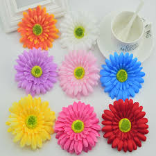 Flower Decoration For Home Popular Fake Daisies Buy Cheap Fake Daisies Lots From China Fake