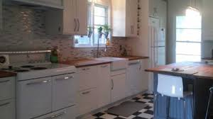 ikea white beadboard kitchen cabinets an ikea kitchen with modern and vintage touches