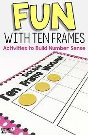 best 25 ten frame activities ideas on pinterest kindergarten