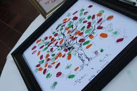 diy thumbprint tree diy do it your self