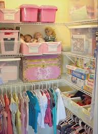 organized kids closet from how i get my kids to clean their room