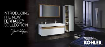 long bathroom sink with two faucets bathroom fixtures showers toilets kohler australia