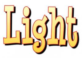 light teaching ideas