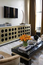 Gold Curtains Living Room Inspiration Gold And Black Living Room Design Ideas