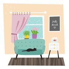 chambre gratuite illustration gratuite mars printemps chambre fleurs image