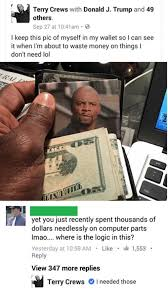 I Need Money Meme - financial advice from terry crews wholesomememes