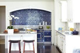 blue tiles kitchen backsplash mosaic tile glass subscribed me