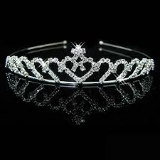 wedding crowns crown wedding crown crown silver plated pearl
