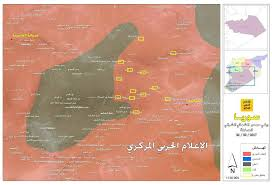 Homs Syria Map by Isis Pocket In Homs Implodes As Syrian Army Renews Offensive Map