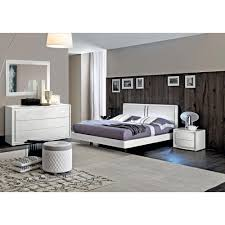 dama bianca 5 pc bedroom set lacquer esf furniture