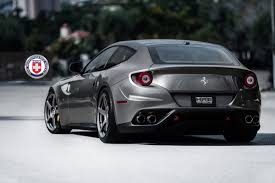ferrari back view ferrari ff with 20 inch hre p45sc wheels american wheel and tire