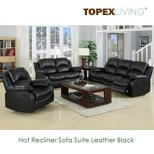 Black Microfiber Couch And Loveseat Recliner Sofa Loveseat Recliners Chair Leather Black Sofa Set