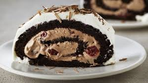 flourless black forest roulade recipes food network uk