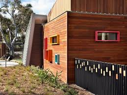 Spotted Gum Shiplap Austimber Gallery Project Ansto Child Care Centre