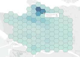 Double Map Creating Density Maps With Fme For Tableau Fme Knowledge Center