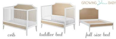 Convertible Crib Bed Ducduc Verona Convertible Crib Growing Your Baby