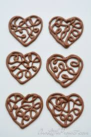 How To Make Chocolate Decorations At Home Best 25 Chocolate Hearts Ideas On Pinterest Valentines