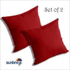 Sunbrella Outdoor Cushions Amazon Com Set Of 2 Sunbrella Outdoor Indoor Throw Pillows By