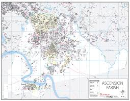 New Orleans Parish Map by Portfolio U2013 Stinson Map