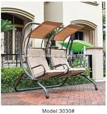 Patio Swing Chair by Two Seat Outdoor Swing Chair Benches Hanging Bench Garden Patio