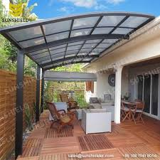 Awning Aluminum Polycarboante Patio Cover Aluminum Patio Awning Sunshield