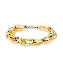 bracelet chain gold images 14k bonded gold twisted oval link chain modern bracelet chain jpg