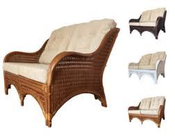 rattan lounge sofa rattan furniture etsy